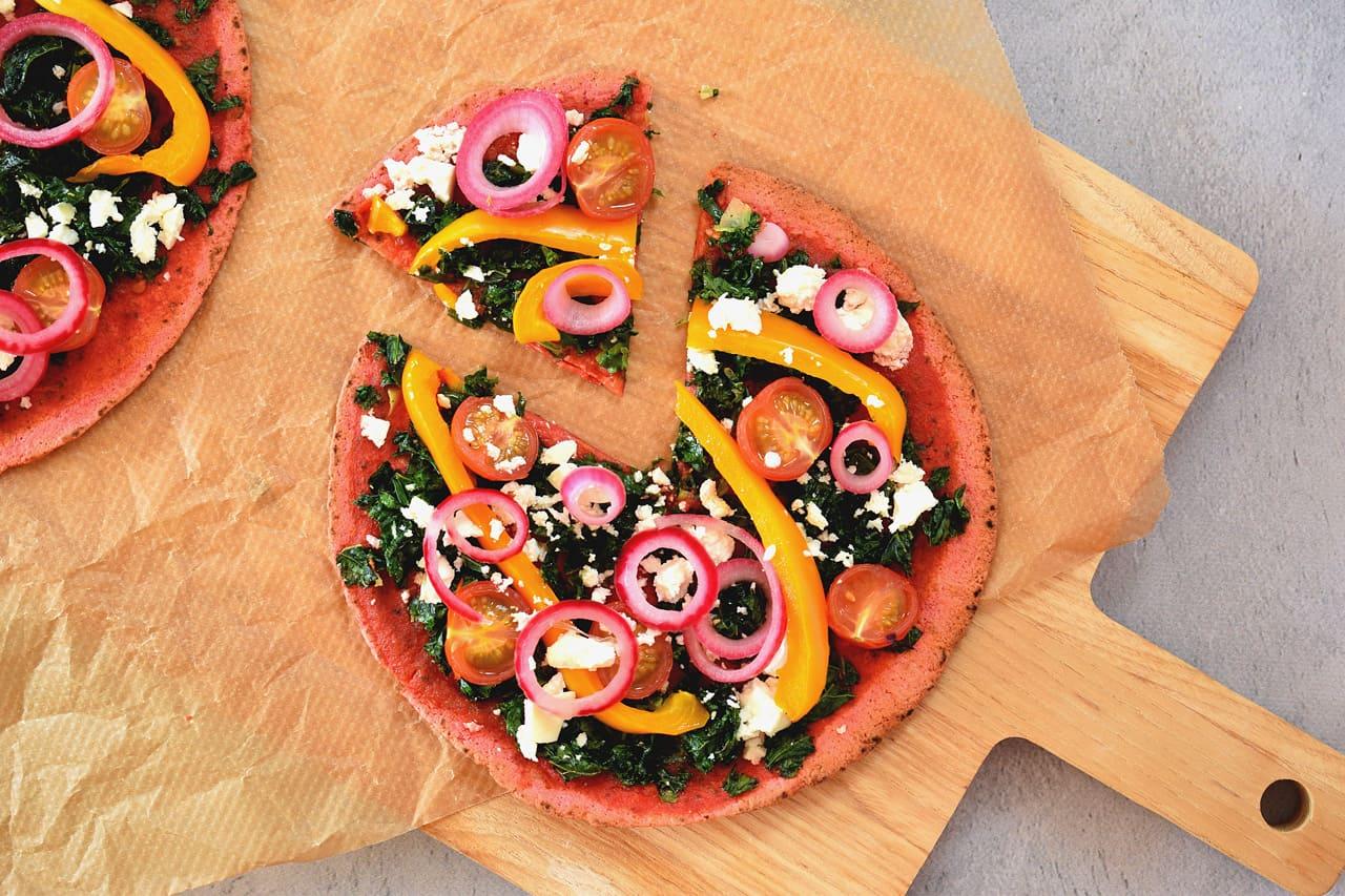 bietentortilla pizza
