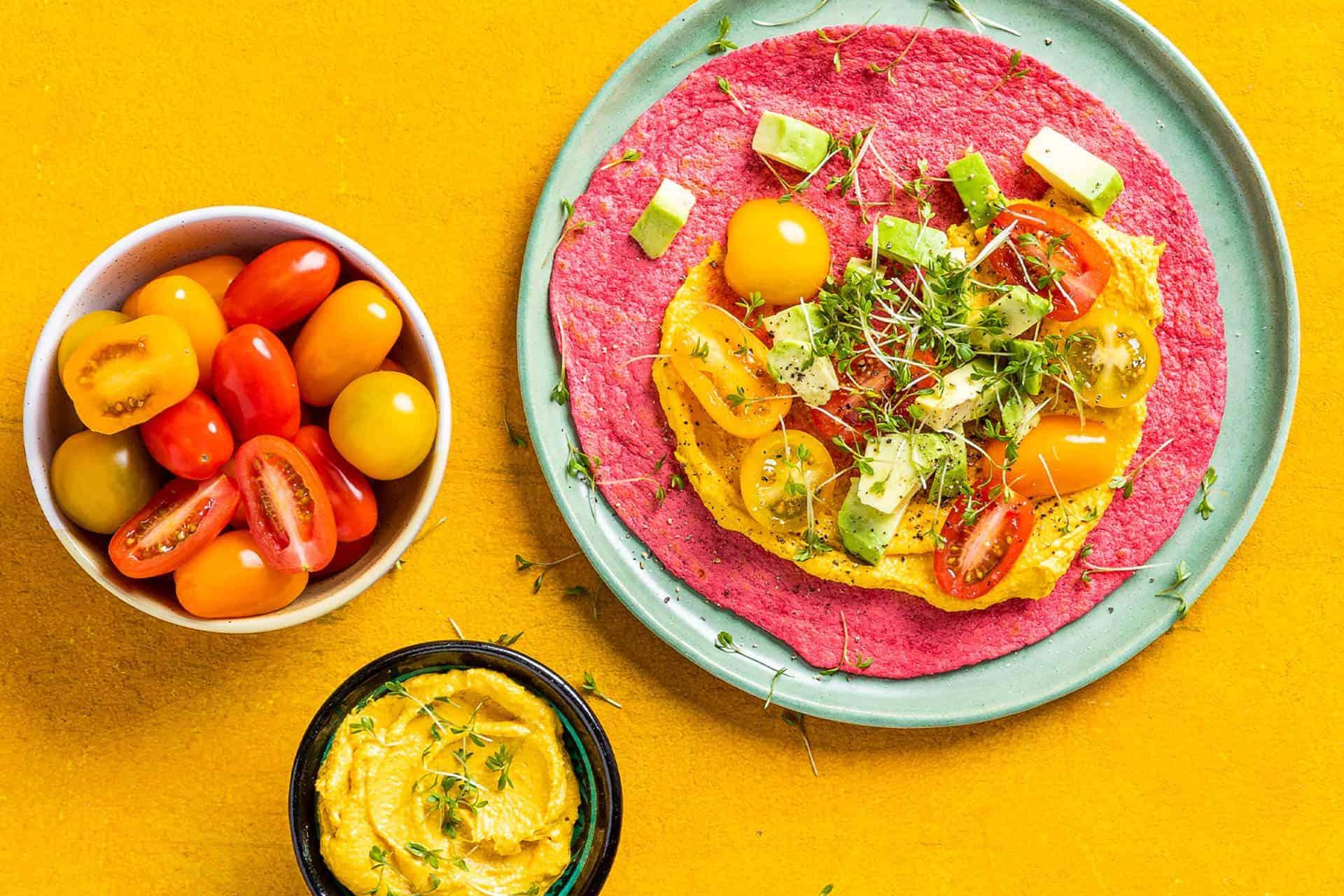 lunch-tortilla-met-hummus